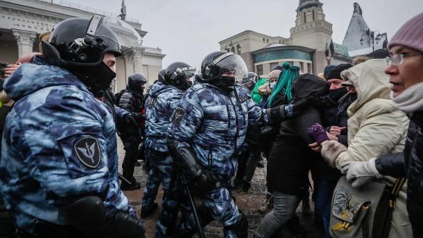 """""""Nawalnyj hat keine Angst, und ich habe keine Angst"""""""