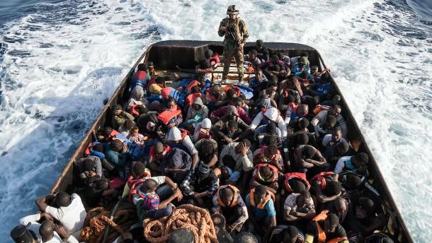 Künftig ohne die libysche Küstenwache?