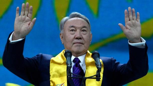 Kasachischer Präsident Nasarbajew tritt zurück