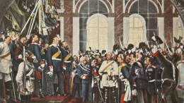 Kaiserproklamation im Siegesrausch