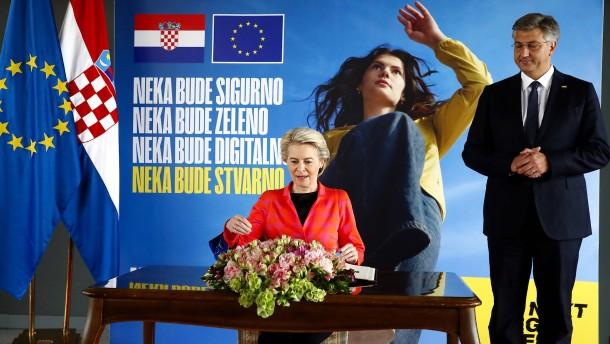 Tritt Kroatien wirklich dem Euro bei?