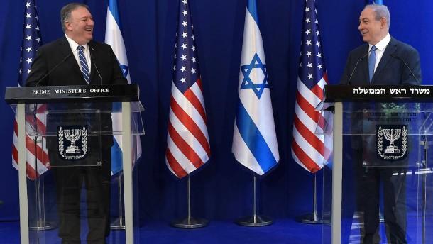 Lob für Netanjahu, Kritik an Peking
