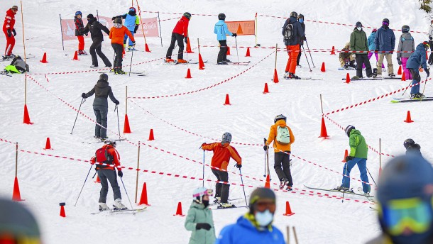Das Skifahren spaltet die Schweiz