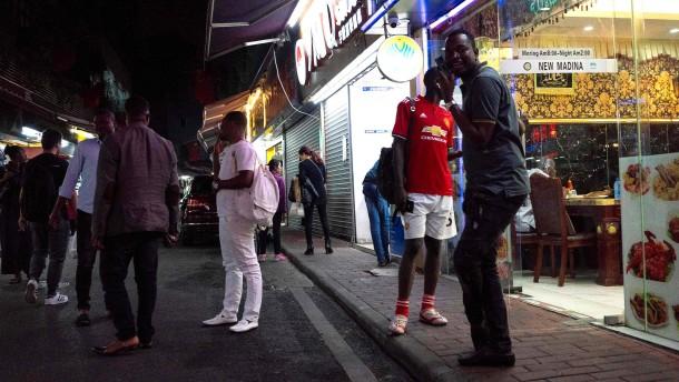 """""""Sie finden heute keine Schwarzen auf der Straße in Guangzhou"""""""