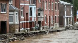 Schwere Zerstörungen in der Provinz Lüttich