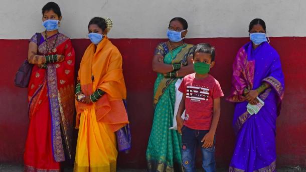 Die Welt im Griff der Pandemie