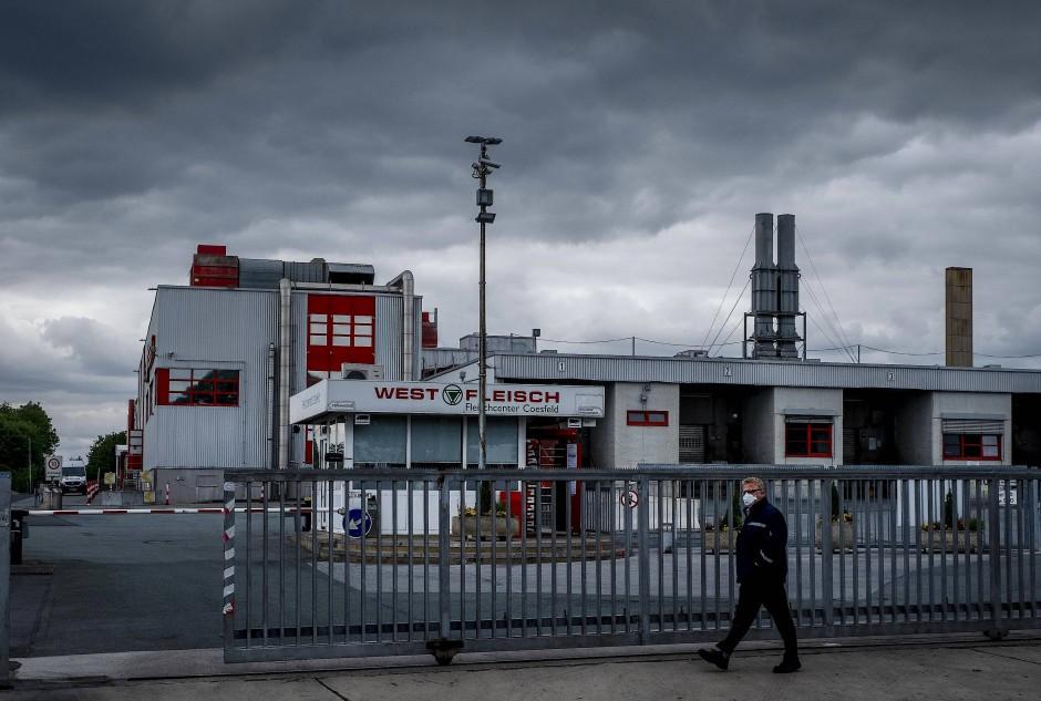 Ort des Schlachtens: Westfleisch in Coesfeld