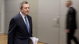 Die EZB senkt die Zinsen und beschließt neue Anleihekäufe