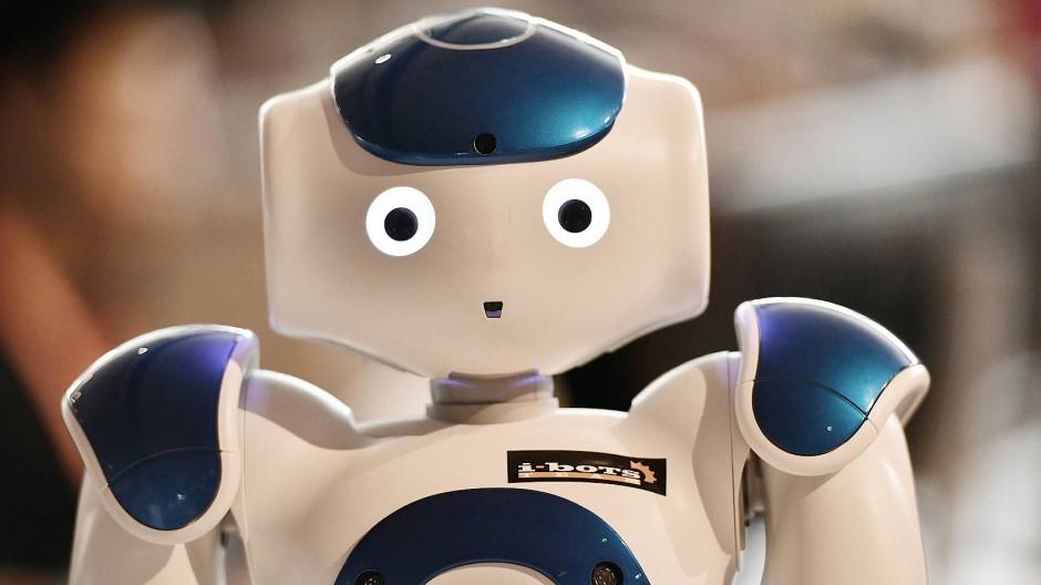 Ein Roboter auf der Ideen Expo in Hannover.