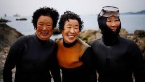 Die Taucherinnen von Südkorea