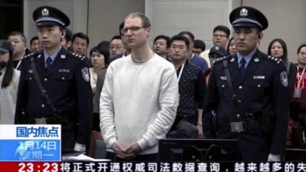 China bestätigt Todesurteil gegen Kanadier Schellenberg