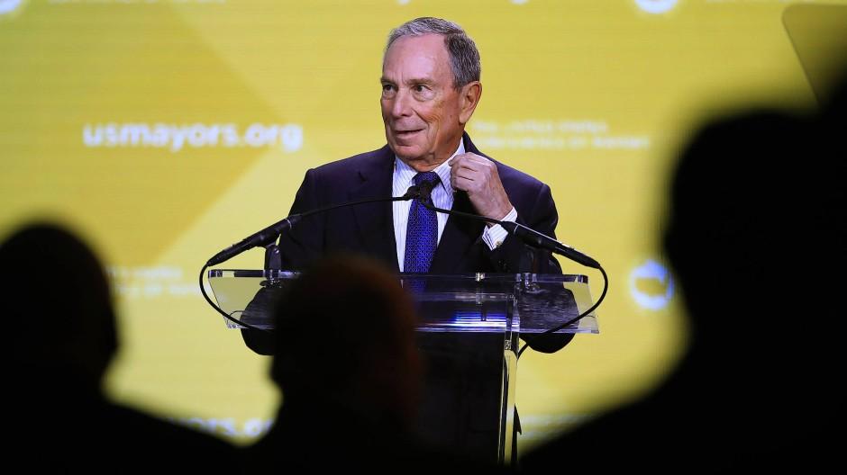 Der Milliardär und frühere New Yorker Bürgermeister Michael Bloomberg