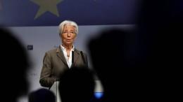 Lagarde fordert fiskalpolitische Hilfe von Regierungen