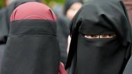 Gesichtsschleier-Verbote in Europa zulässig