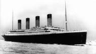 Die Titanic sank im Jahr 1912, über die Ursache wird bis heute spekuliert (undatierte Archivaufnahme).