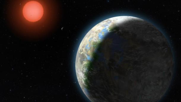 Ein Planet in lebensfreundlicher Bahn entdeckt