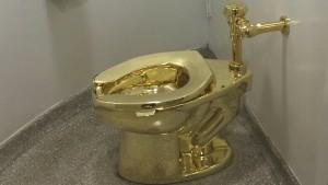 Klo aus Gold im britischen Blenheim-Palast gestohlen