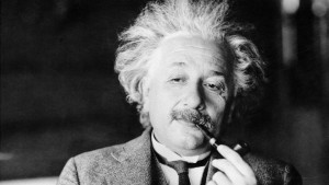 Zettel mit Sprüchen von Albert Einstein für Millionenbetrag versteigert