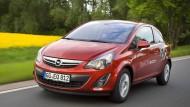Sparbüchse: Opel Corsa 1.4 LPG mit Autogas.