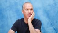 """Michael Keaton im November 2016 bei einer Pressekonferenz zu seinem neuen Film """"The Founder"""" in Los Angeles"""