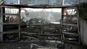 Zwei Bewohner nach Brand unter Tatverdacht