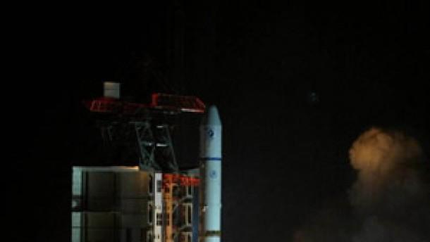 Erstmals europäisch-chinesischer Satellit ins All gebracht