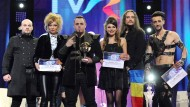 Ovidiu Anton (dritter von links) hätte Rumänien beim ESC vertreten sollen.