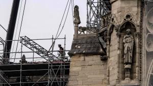 Arbeiter haben Rauchverbot in der Kathedrale missachtet