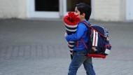 Deutsche Eltern müssen sich weniger Gedanken machen, was sie ihrem Kind für die Pause mitgeben