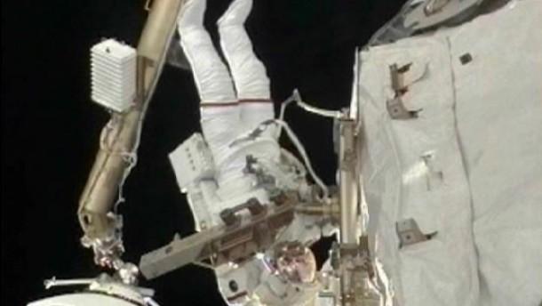 Reparatur im Weltraum