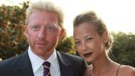Ausgehungert: Sandy Meyer-Wölden habe ihn zu selten bekocht, jammert Boris Becker