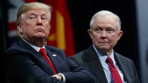 Trump bereut öffentlich Ernennung von Justizminister Sessions