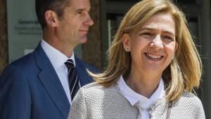 Sechs Jahre Haft für Mann von Infantin Cristina