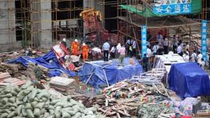 19 Tote bei Aufzug-Sturz in die Tiefe