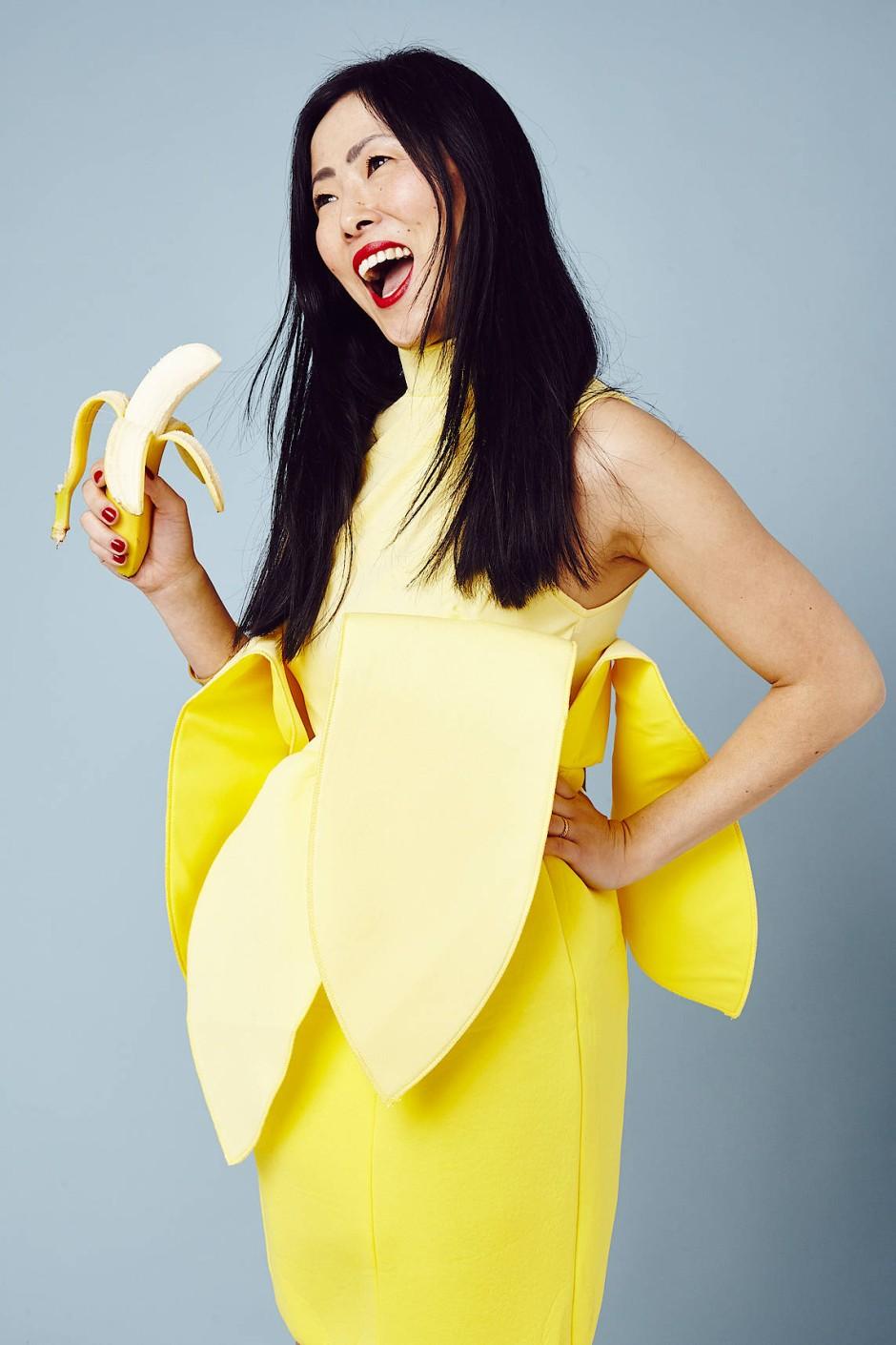 Susanna Kim nennt sich als DJane Kim Kong. Sie findet die passende Musik zur Mode.