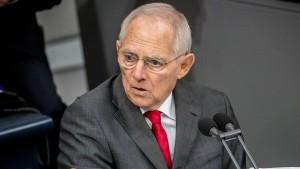 Kritik und Spott für Schäubles Ermahnung gegen das Twittern