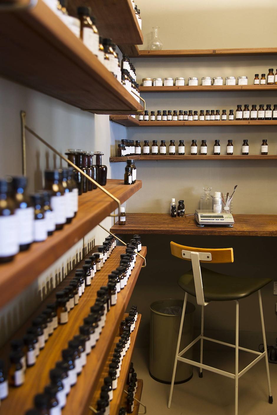 Perfumer H: Das Labor schließt direkt an den Verkaufsraum an