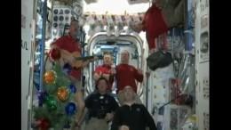 So feiern Astronauten Weihnachten