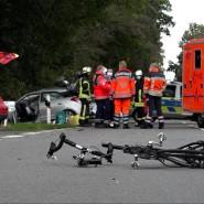 Bei der Unfallserie im Kreis Steinfurt ist ein Radfahrer getötet worden.