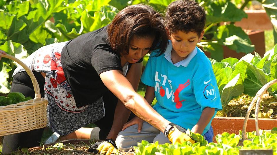 Michelle Obama hatte sich während ihrer Zeit als First Lady für gesundes Schulessen eingesetzt.