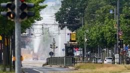 Weltkriegsbombe in Dresden entschärft