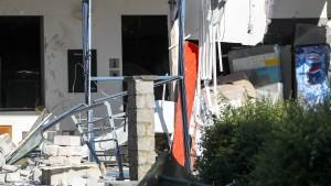 Toter und vier Verletzte bei Explosion in Belgien