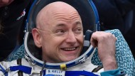 """""""Hat sich Zeit auf der Erde verdient"""": Astronaut Scott Kelly"""