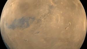 Eis am Mars-Südpol entdeckt