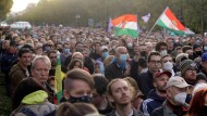 Zehntausende folgten Orbans Aufruf