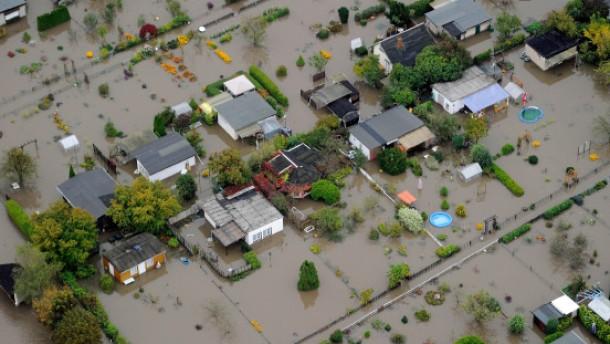 Hochwasserwarnung und Katastrophenalarm