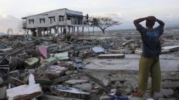 Noch 5000 Vermisste nach Erdbeben- und Tsunami-Katastrophe