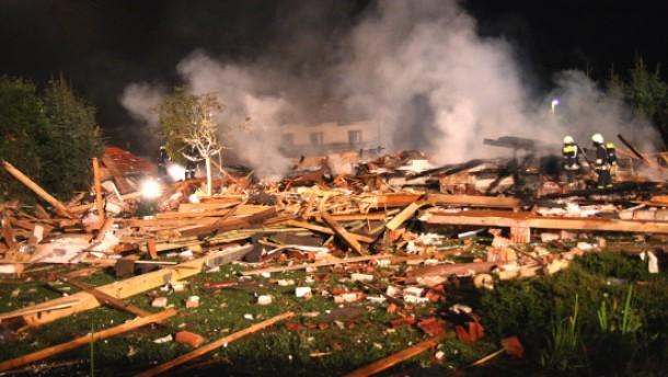 Zwei Todesopfer bei Wohnhausexplosion