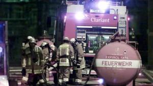 Brand in Chemiewerk: Chlorgas freigesetzt