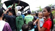 Rund eine Million Philippiner aus Gefahrenzone geflüchtet